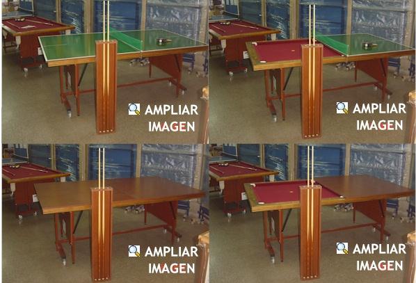 Mesa de Pool multifuncional - 1PINGPONG.com Fábrica de Mesas de ...
